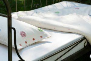 Kinderbettwäsche aus 100% Bio-Baumwollsatin